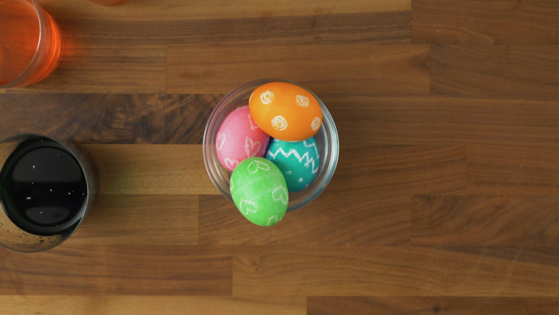 Wax Resistant Easter Eggs