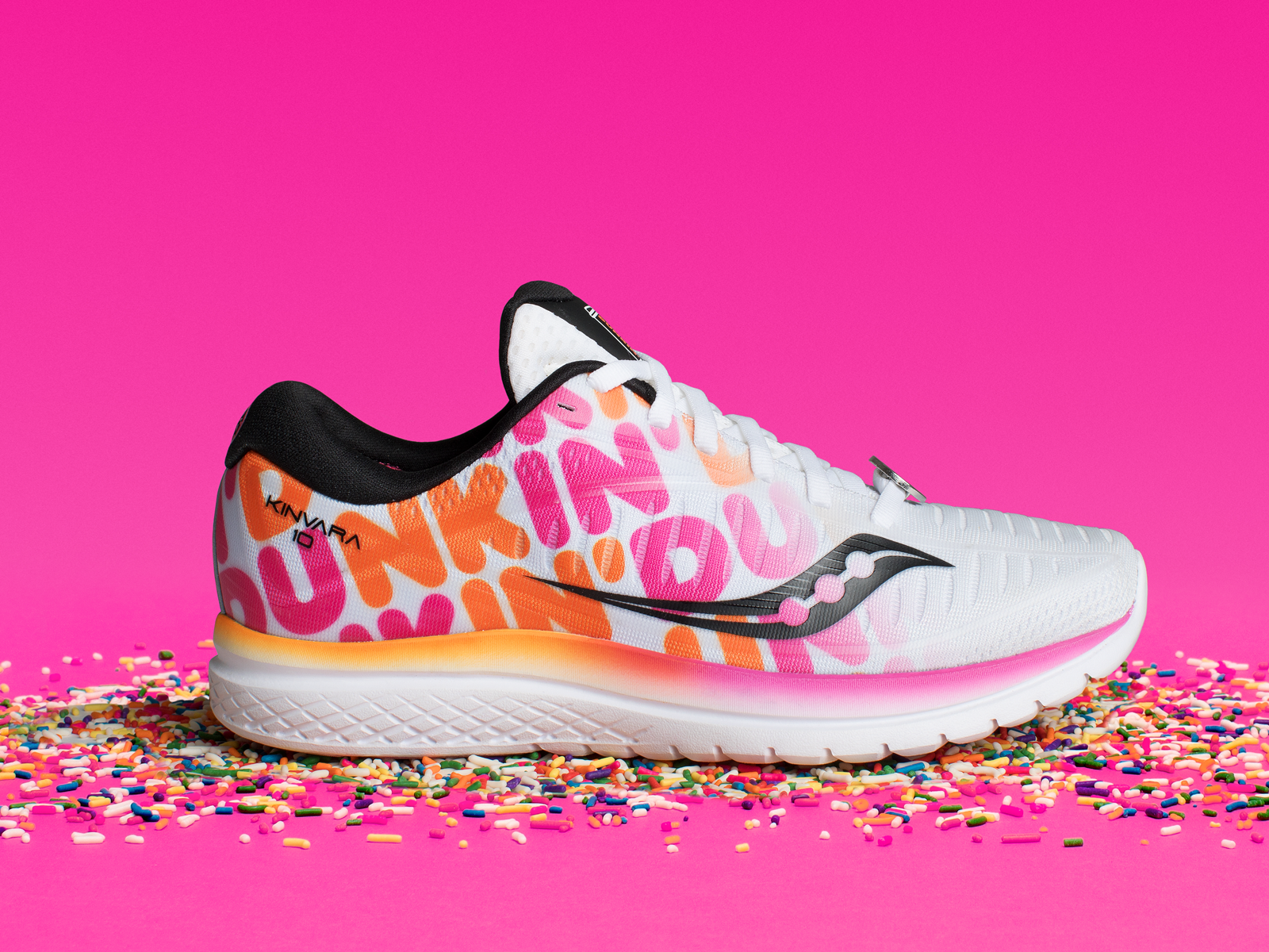 Saucony Dunkin Boston Marathon shoe collaboration