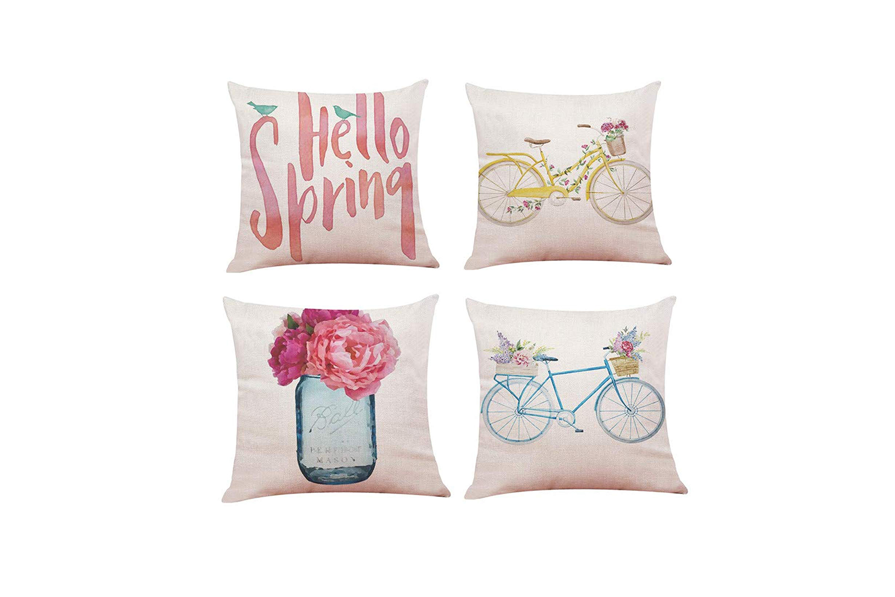 Spring Pillow Cushion Covers for Easter