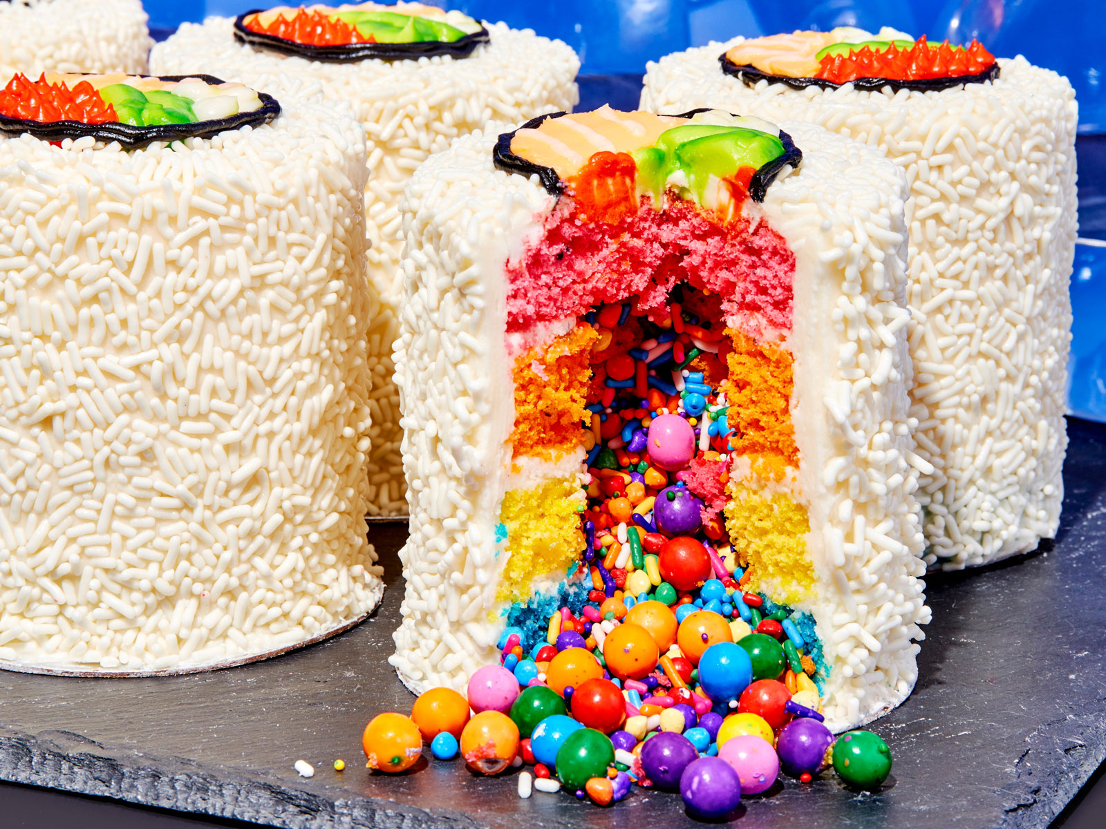 sushi cake from the Power of Sprinkles cookbook