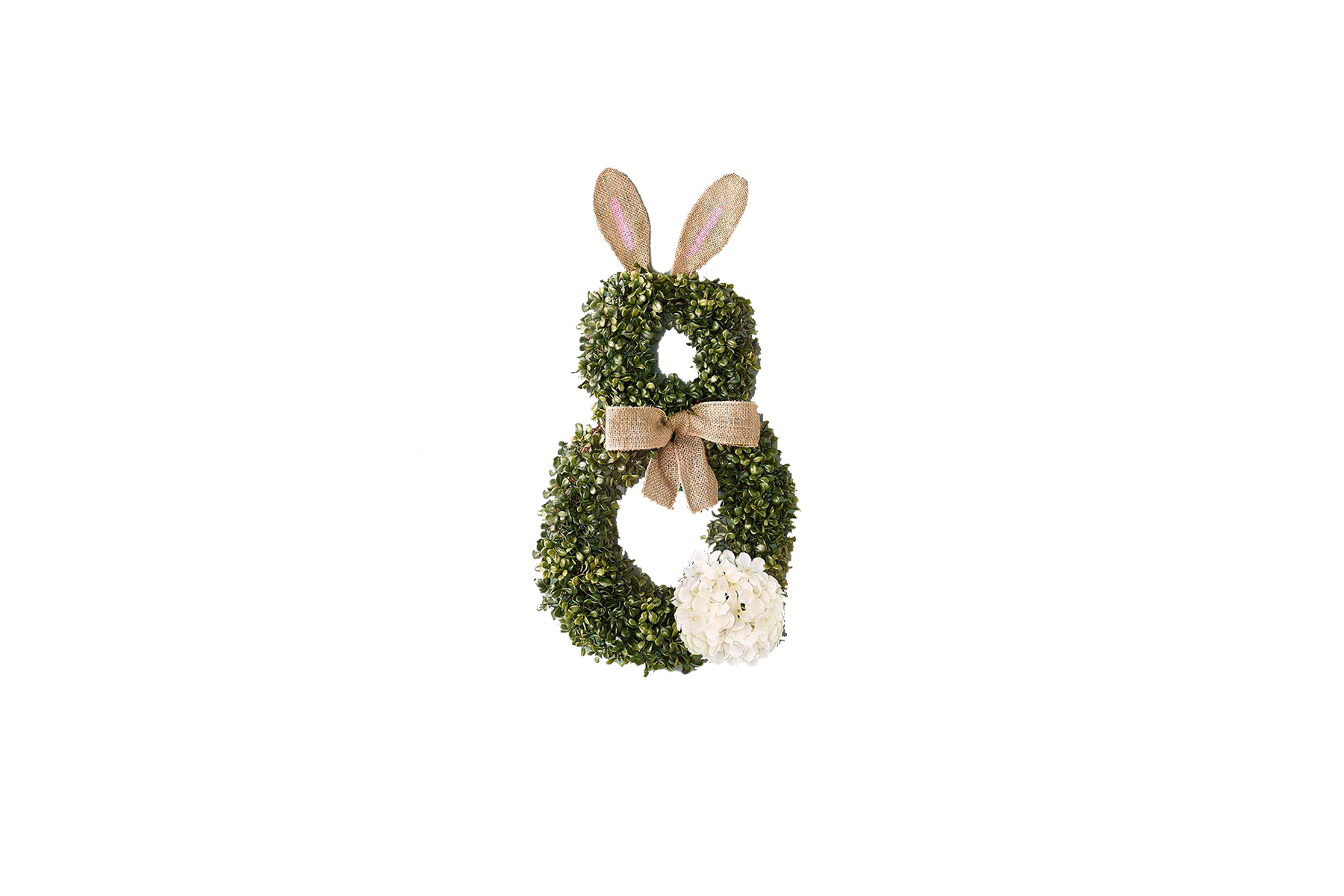 The Lakeside Collection Bunny Wreath for Easter