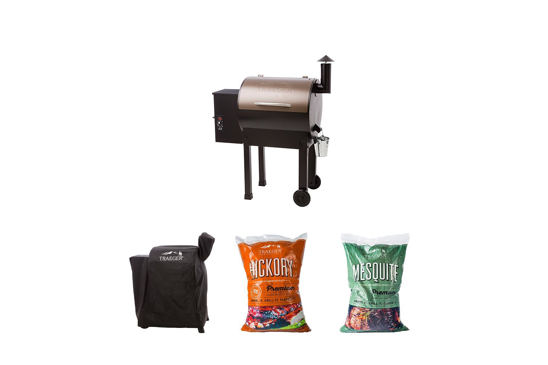 Best Pellet Option: Traeger Lil Tex Elite 22 Pellet Grill