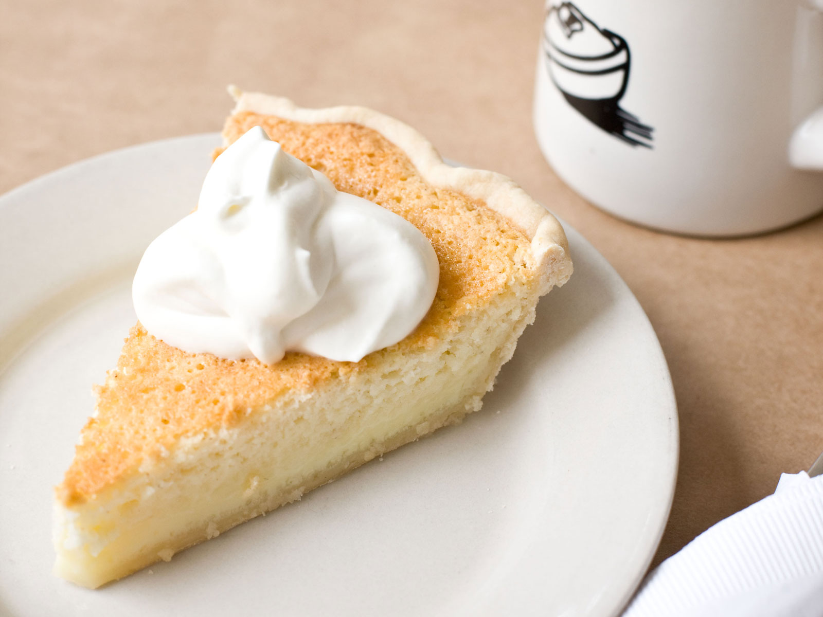 Hominy Grill Buttermilk Pie