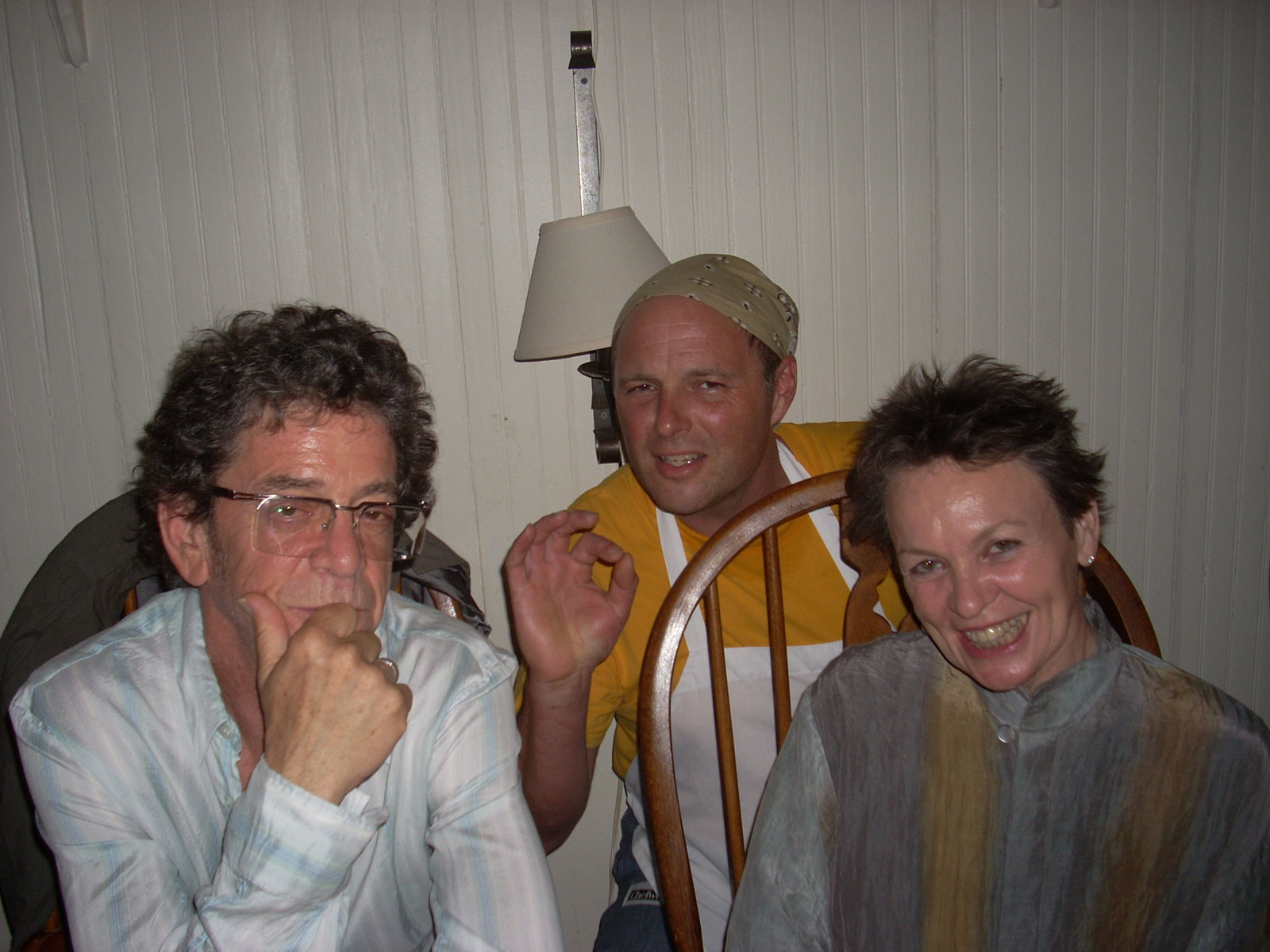 Robert Stehling Lou Reed Laurie Anderson