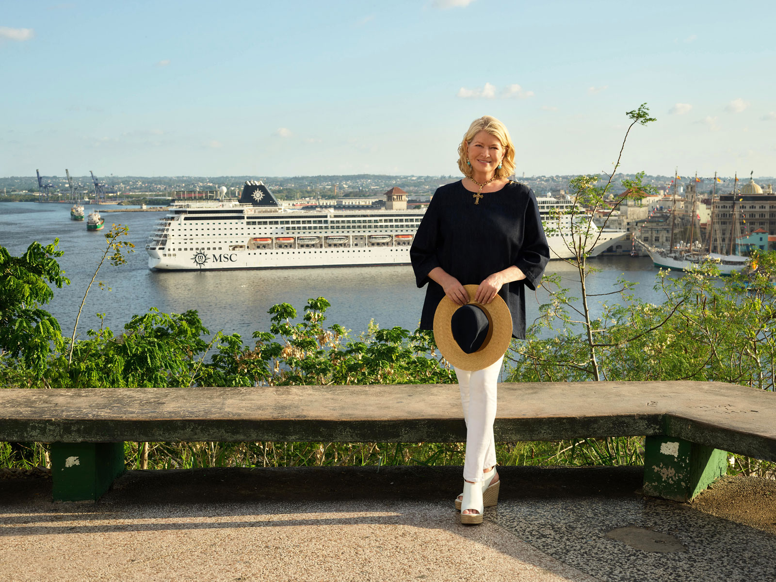 Martha Stewart MSC Cruises