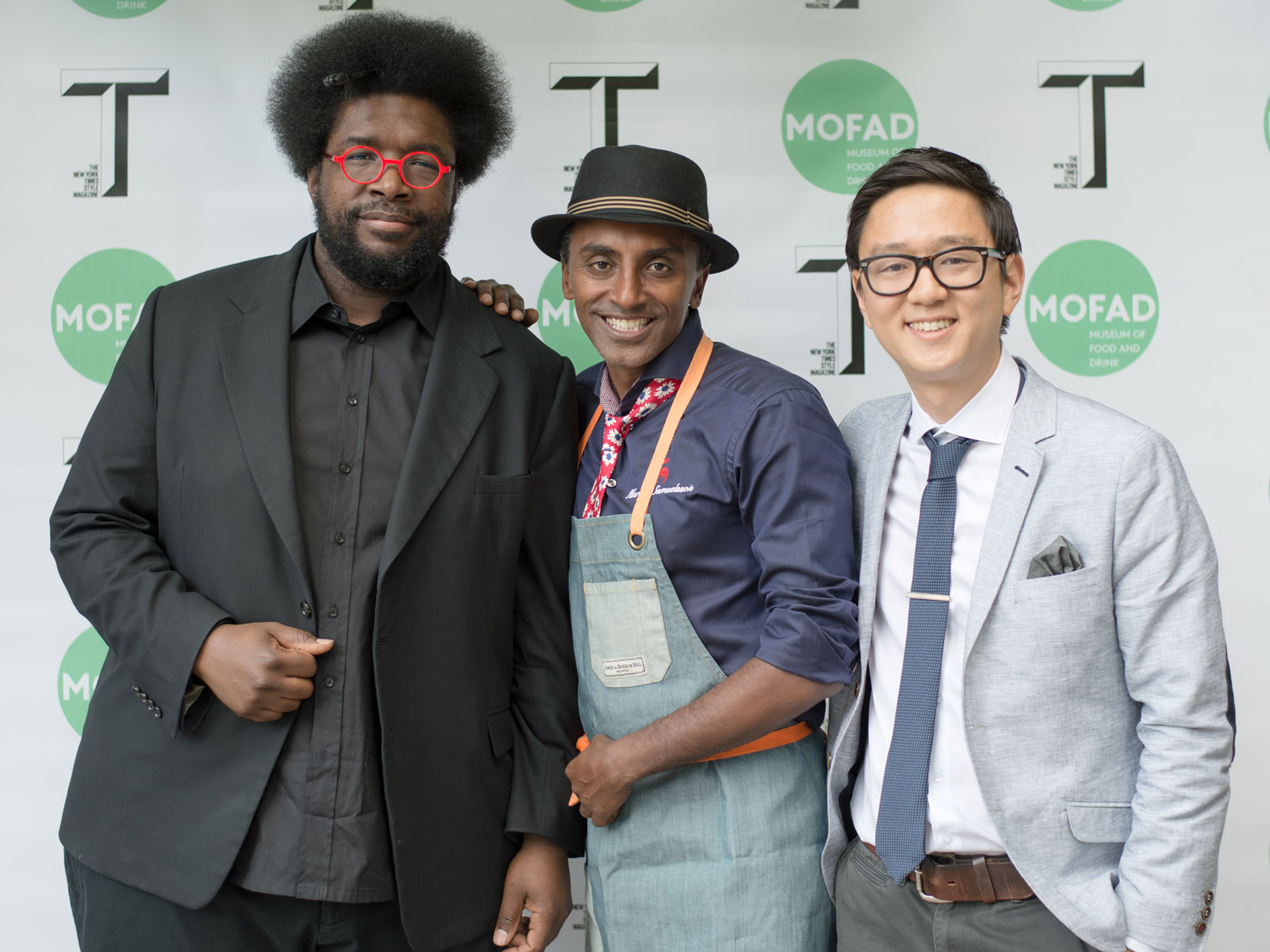 Quest Love Marcus Samuelsson Peter Kim Museum of Food and Drink