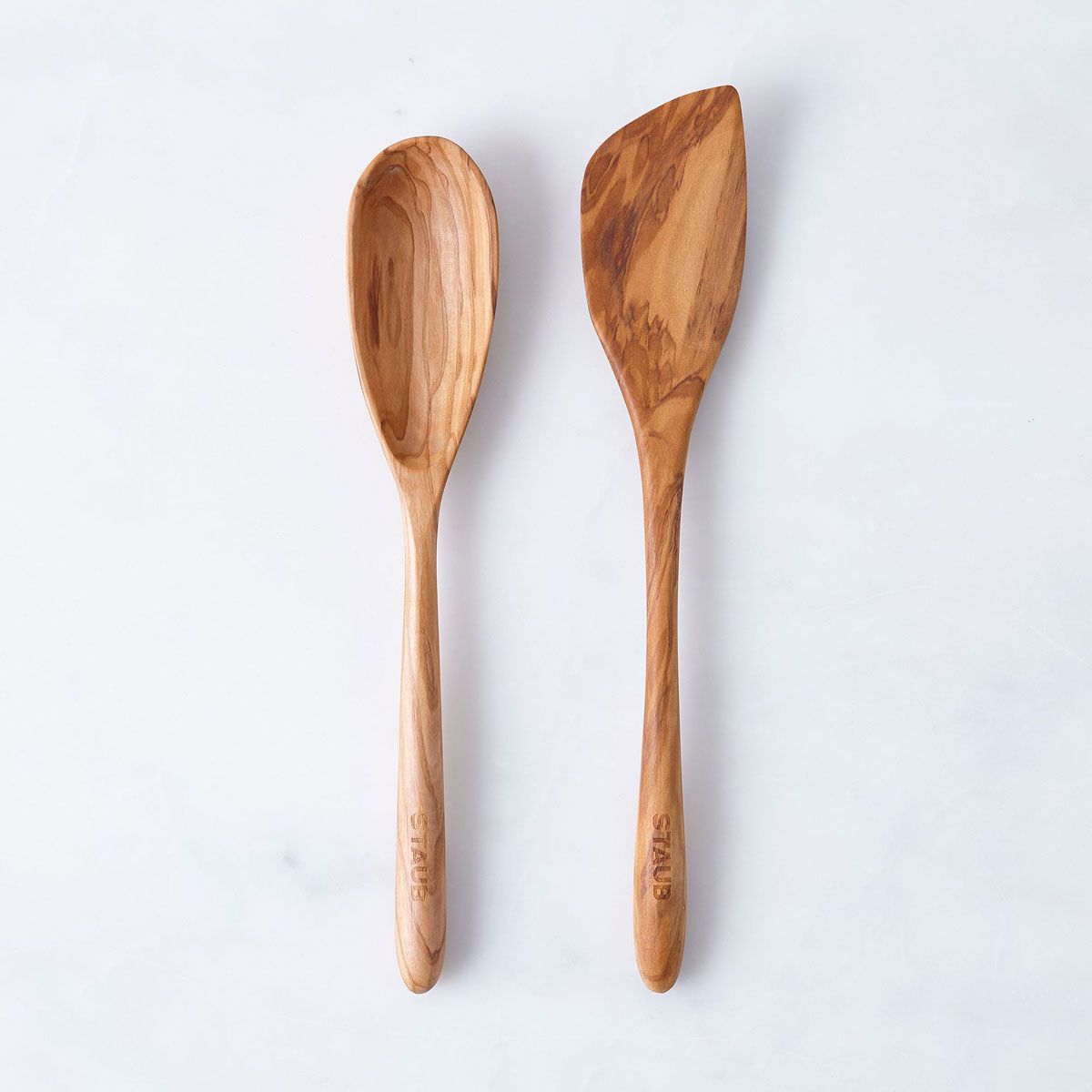 wood spoon spatula set