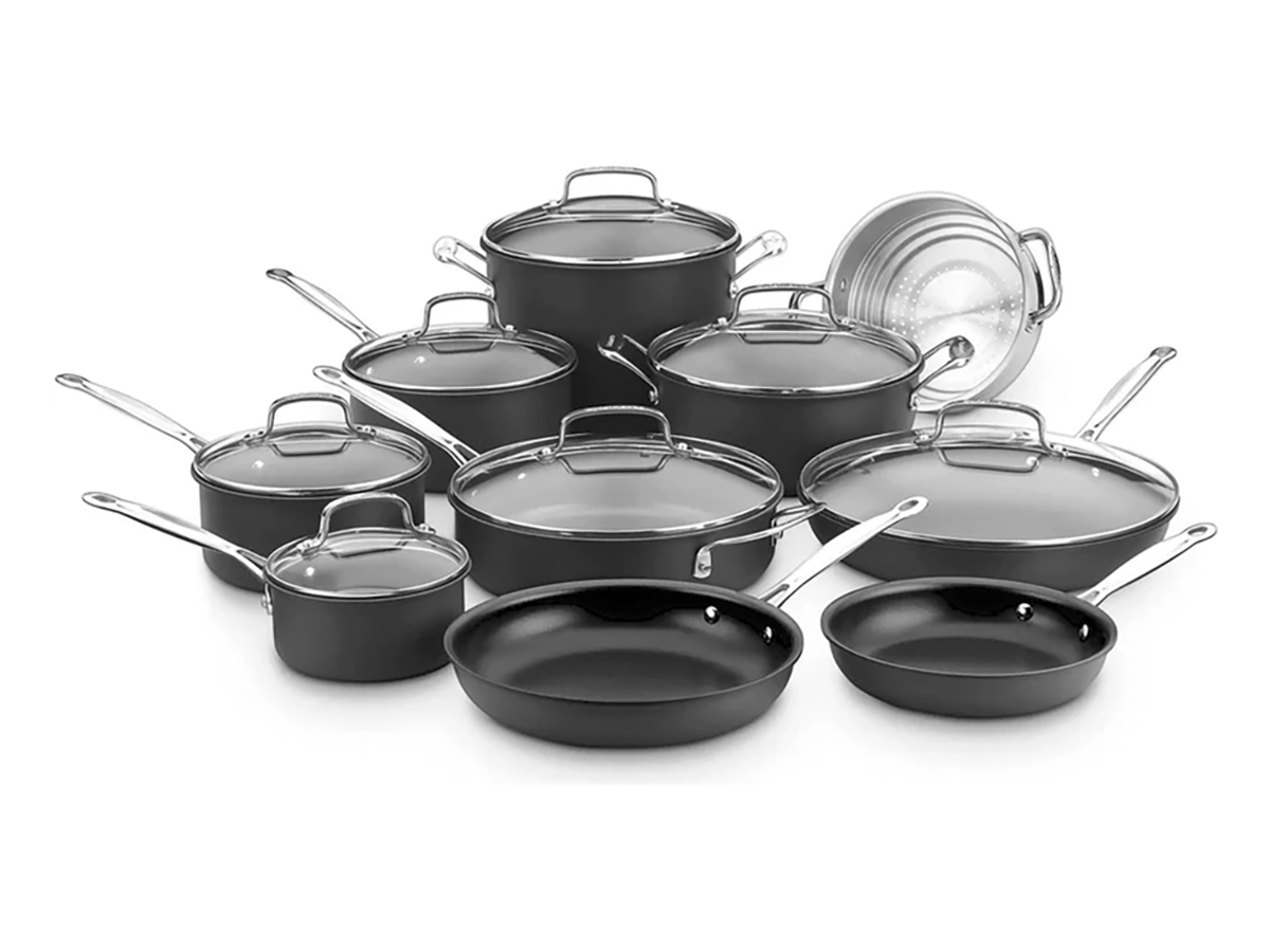 Cuisinart 17-Piece Chefs Classic Hard Anodized Non-Stick Cookware Set