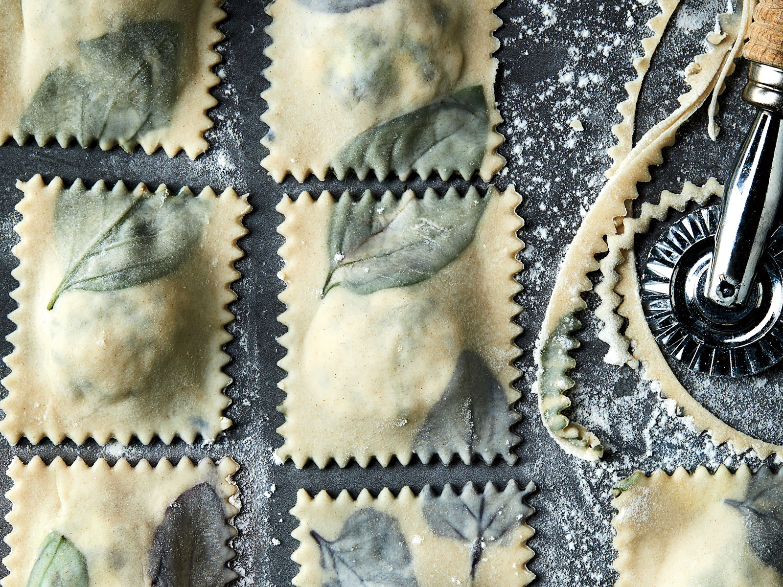Basil Three-Cheese Ravioli with No-Cook Fresh Tomato Sauce