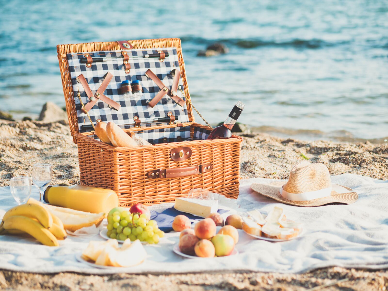 Image result for beach picnic
