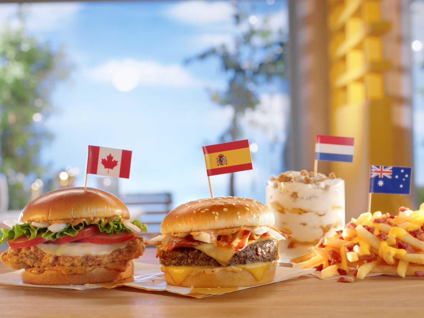 McDonald's Worldwide Favorites Lineup