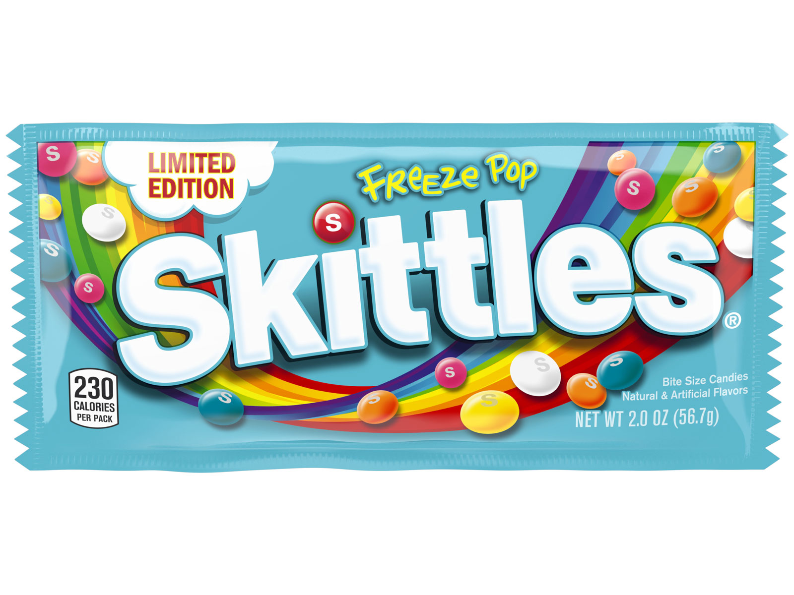 Skittles Freeze Pop