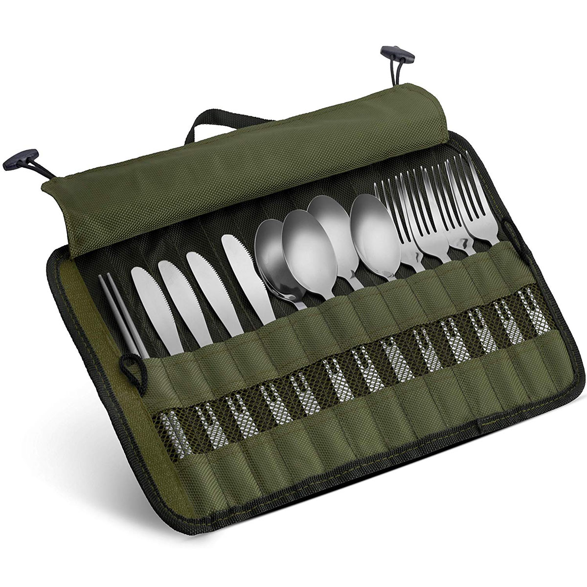 cutlery set with travel case