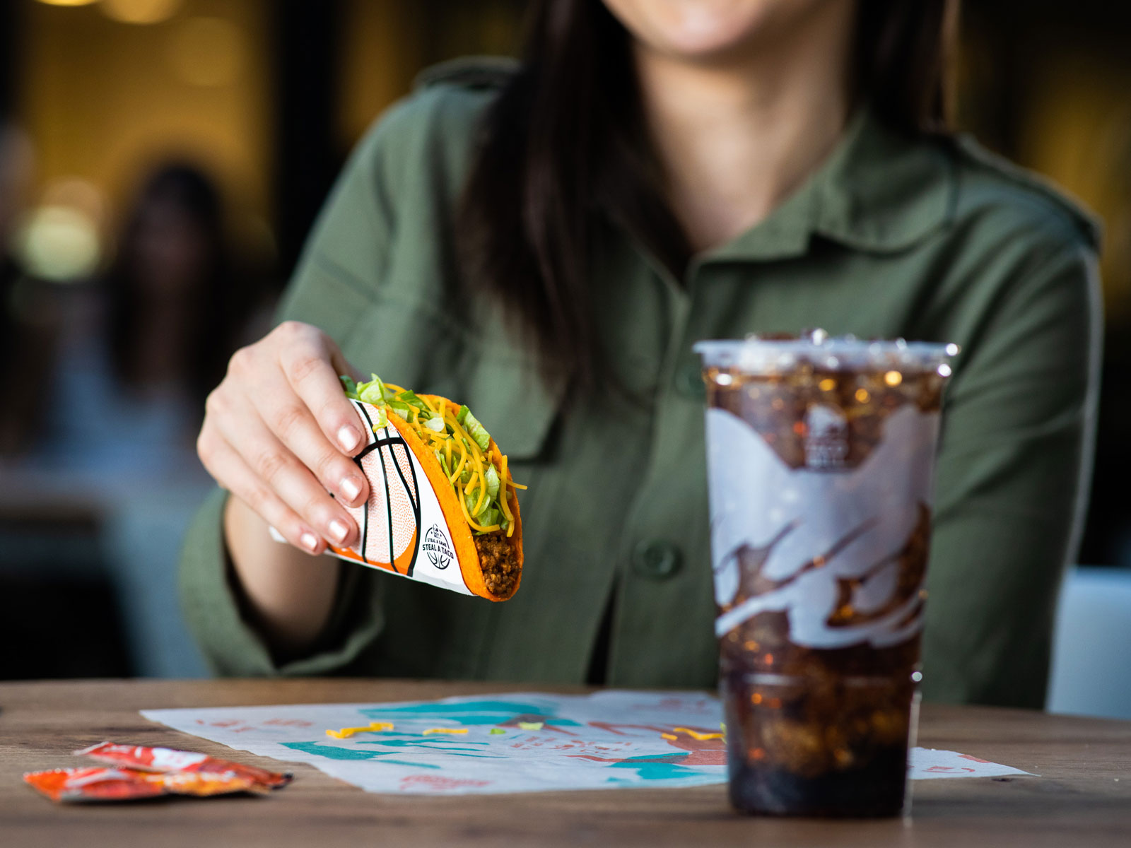Taco Bell Steal a Game Steal a Taco