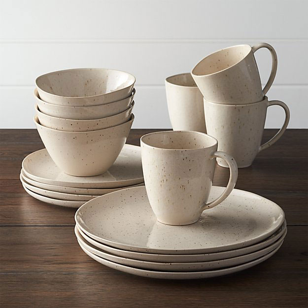 Wilder ceramic dinnerware