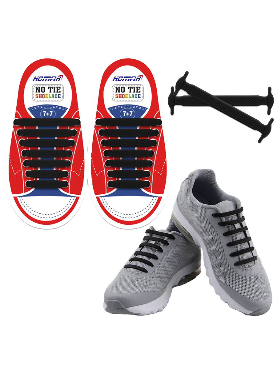 No-Tie Shoelaces for Kids and Adults