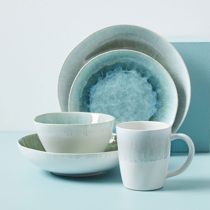 reactive glaze dinnerware