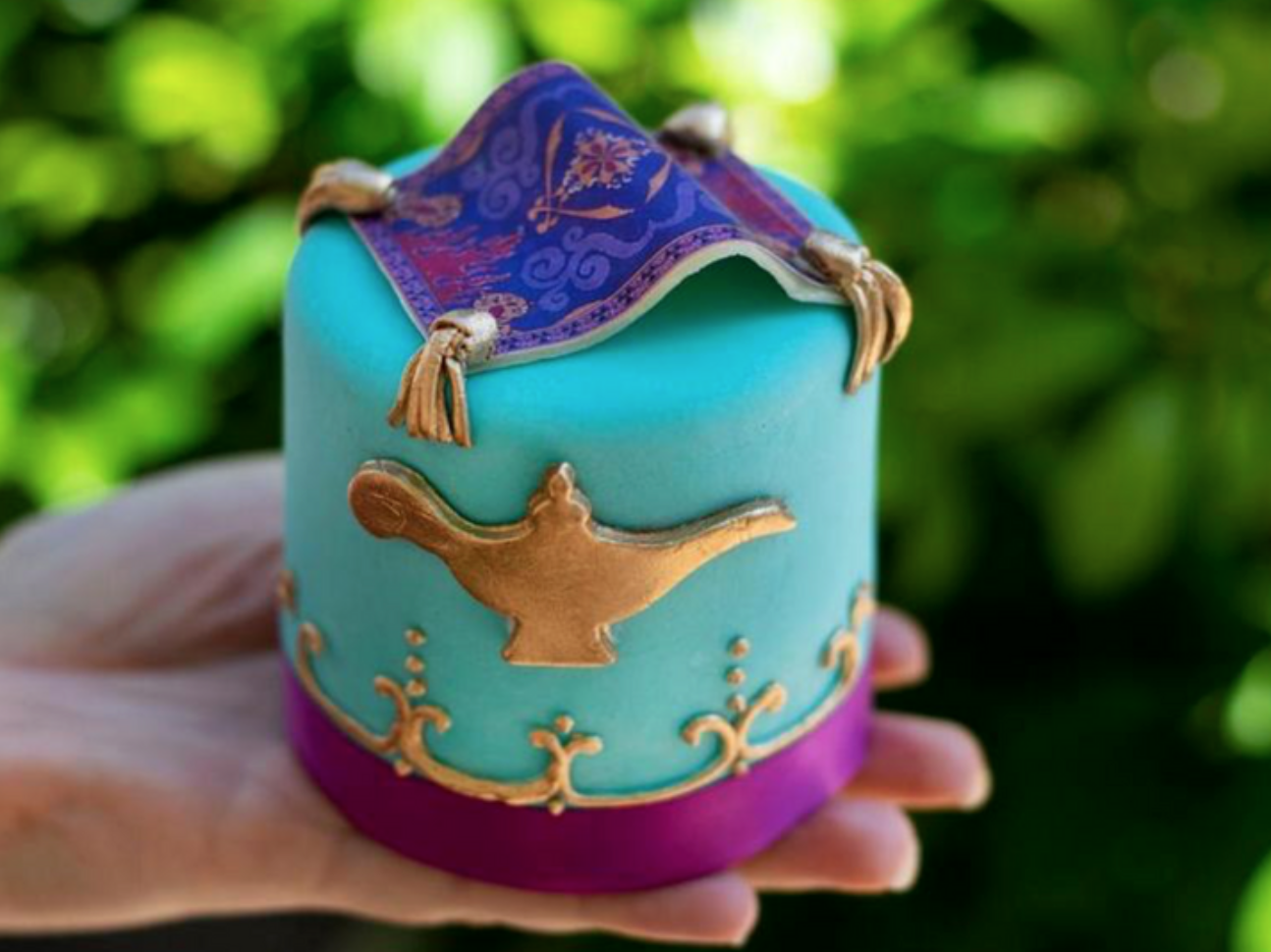 Disney World Is Selling Mini 'Aladdin' Cakes and They're (Almost) Too Cute to Eat