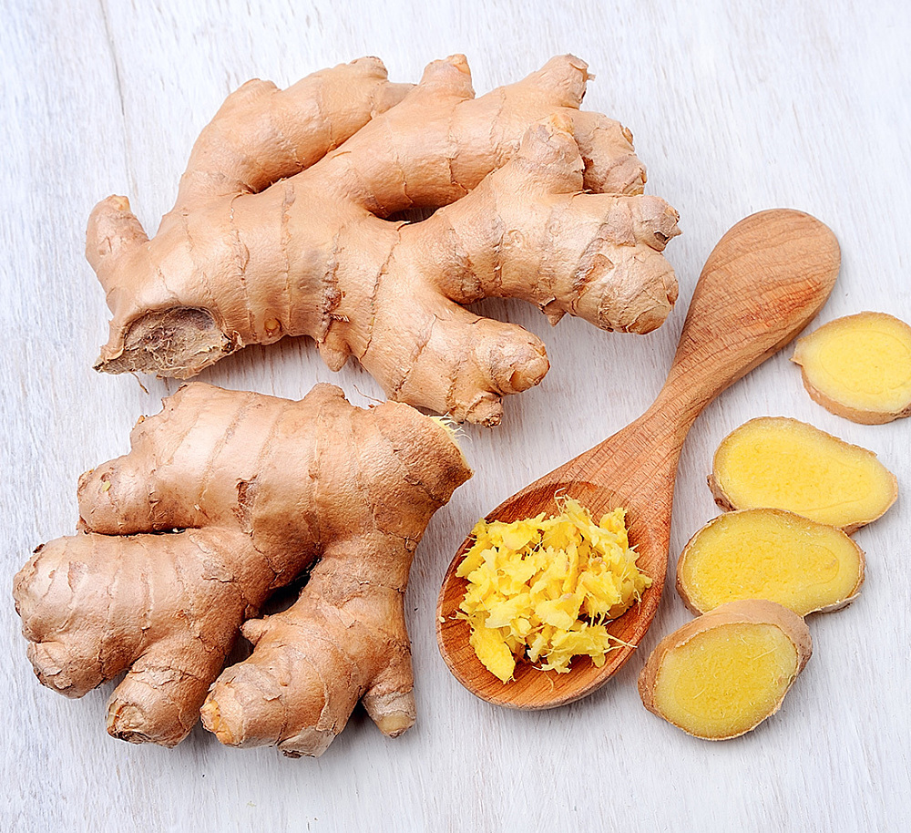 healthy spice ginger