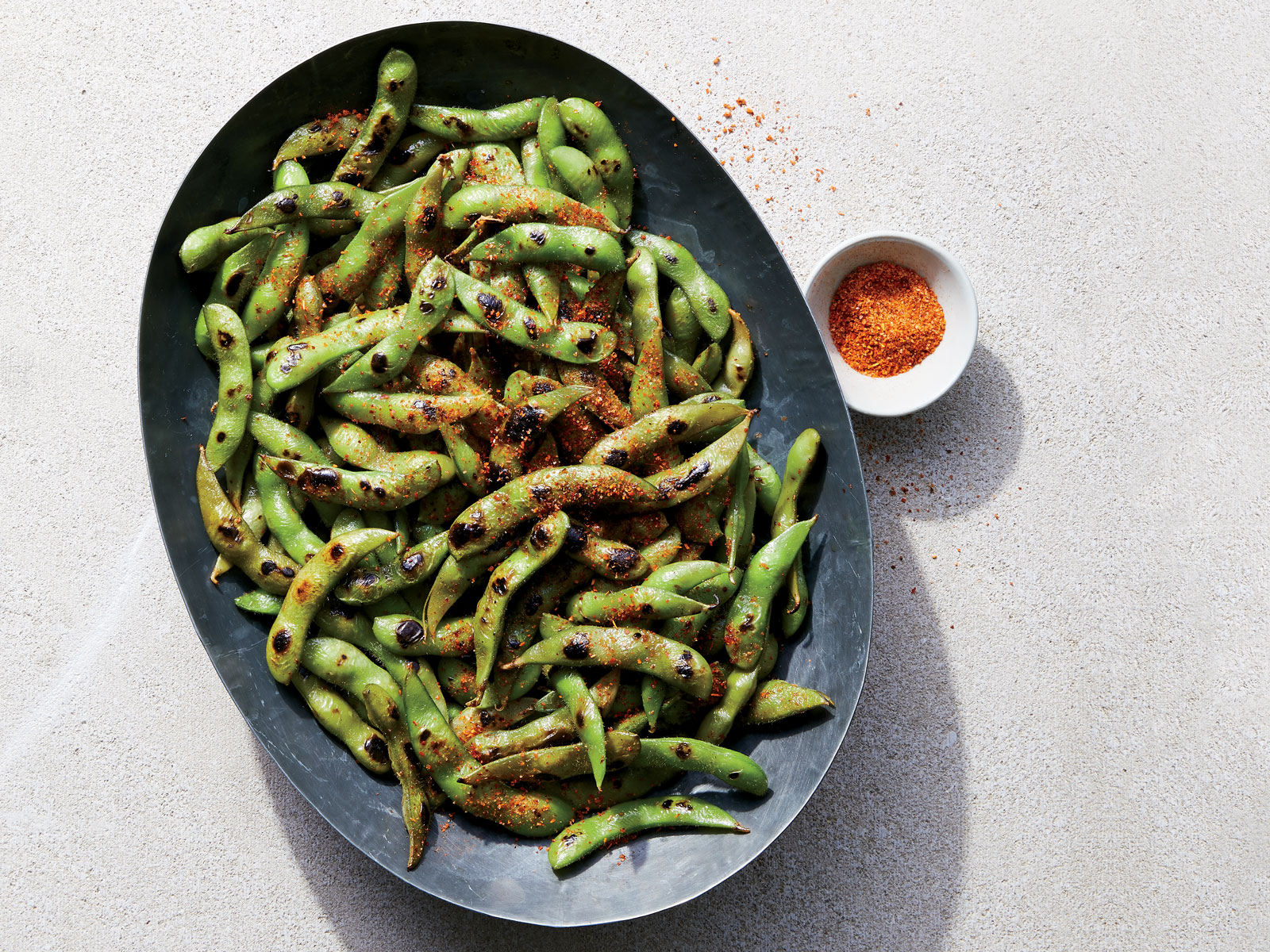 Charred Chili-Lime Beans