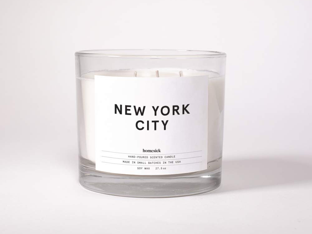 Homesick 3-Wick Scented Candle