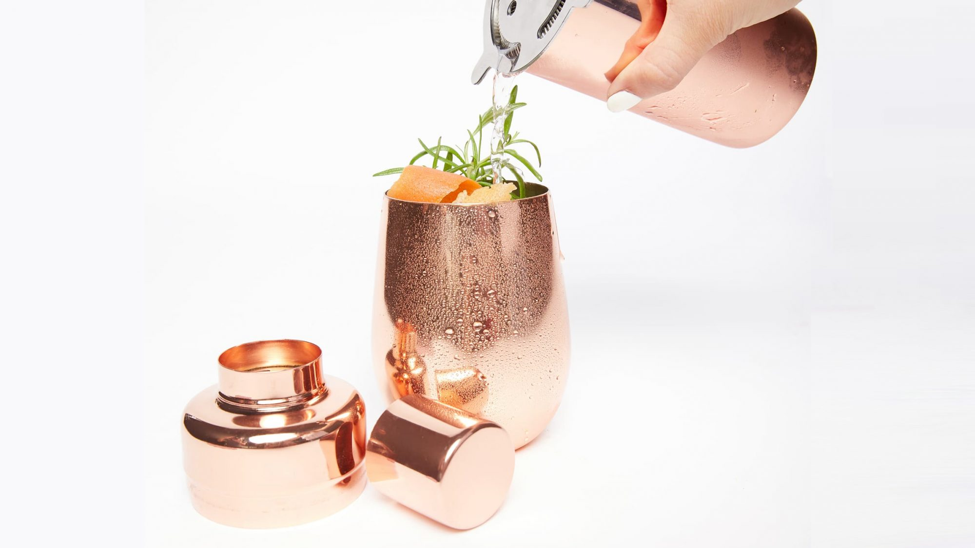 Uncommon James Copper Cocktail Shaker