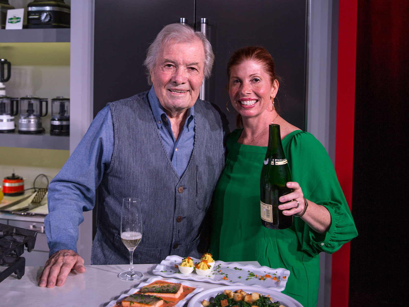 Jacques and Claudine Pepin