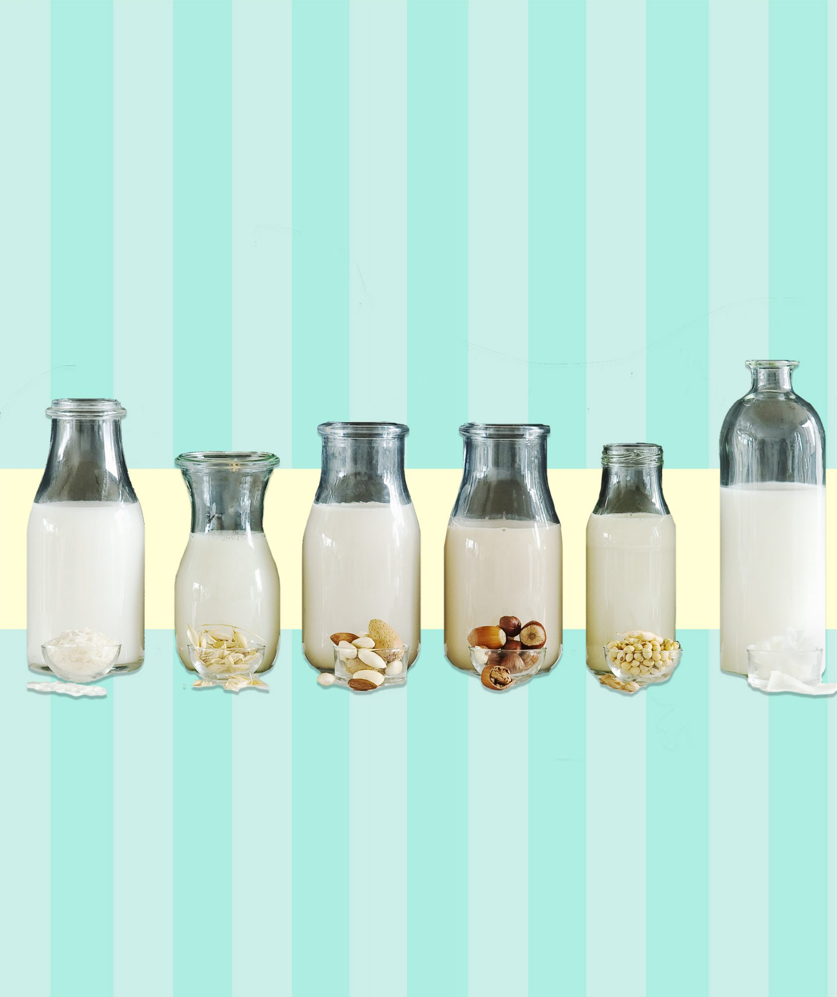 Confused About Non-Dairy Milks? Here's a Breakdown Of All Your Options