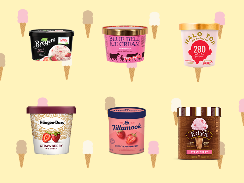 We Tried 6 Brands of Strawberry Ice Cream to Find the Best One