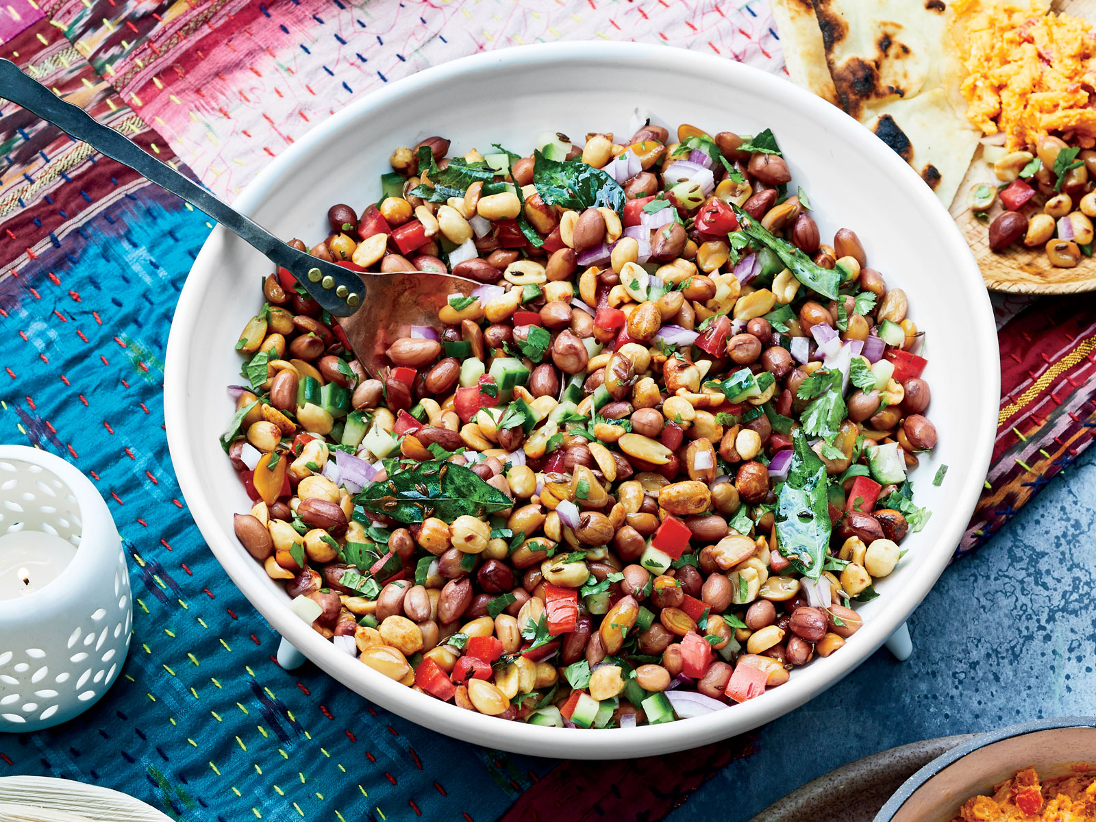 Boiled Peanut Chaat