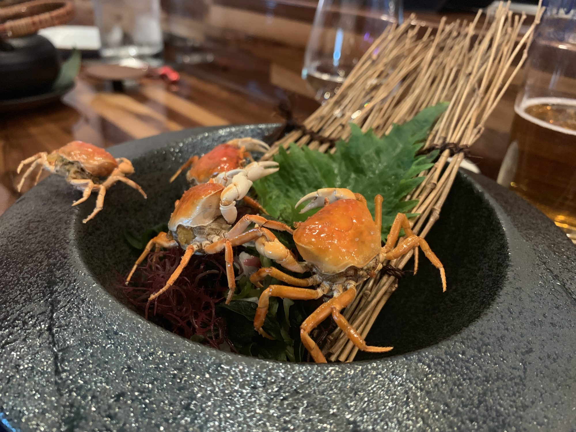 Brothers sushi los angeles crab