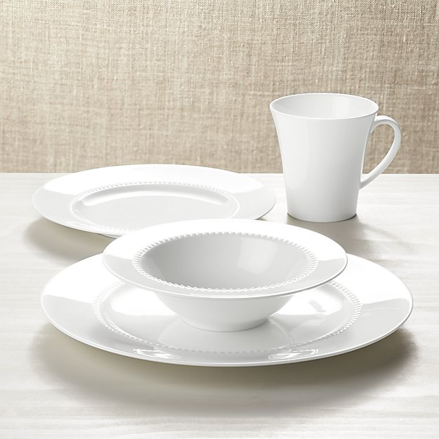 Best White Dinnerware, Crate & Barrel