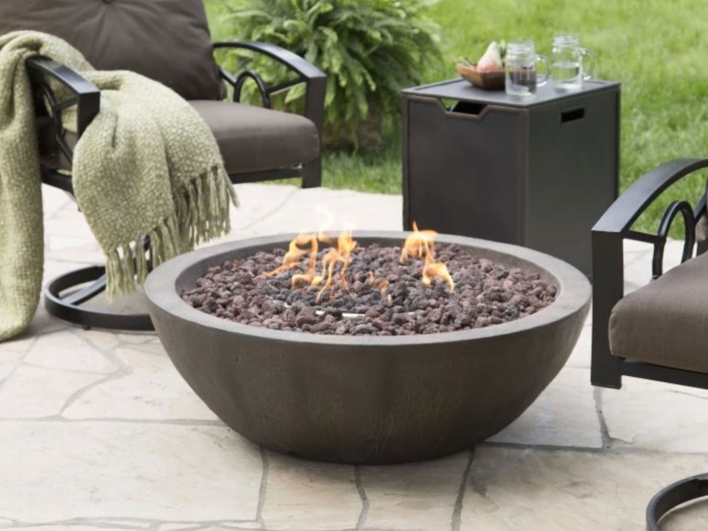 coral coast fire bowl