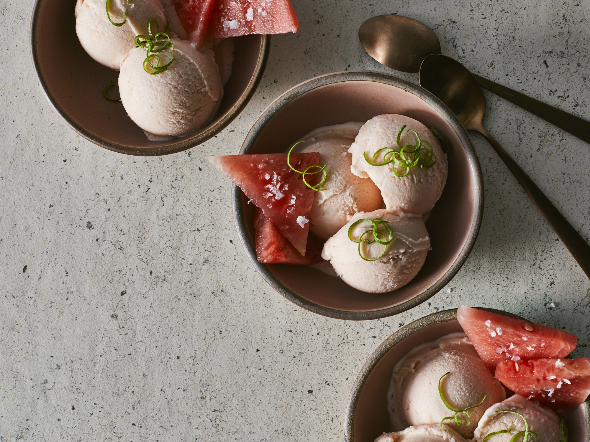 Salted Watermelon Ice Cream
