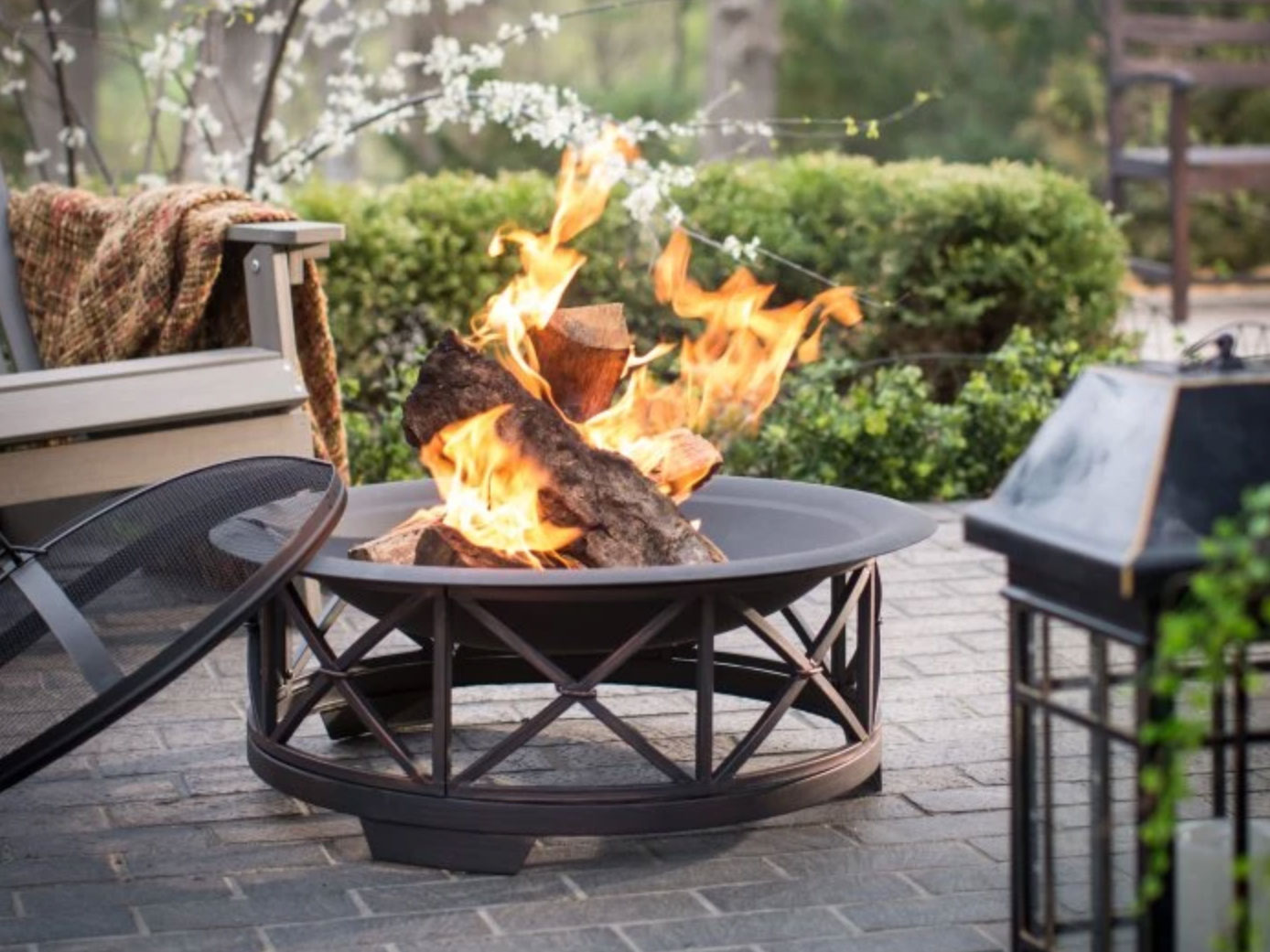 bronze fire pit