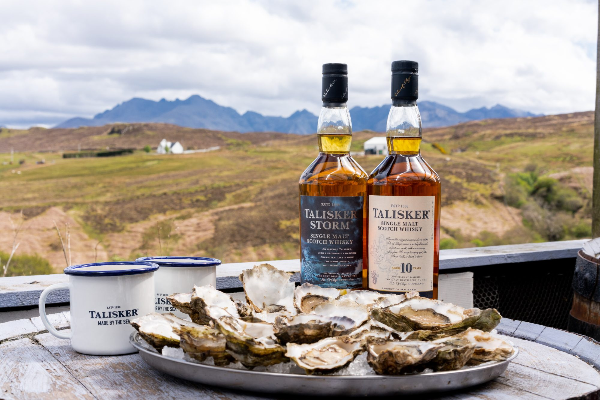 Why the Best Thing to Pair With Oysters Is a Deeply Smoky Scotch