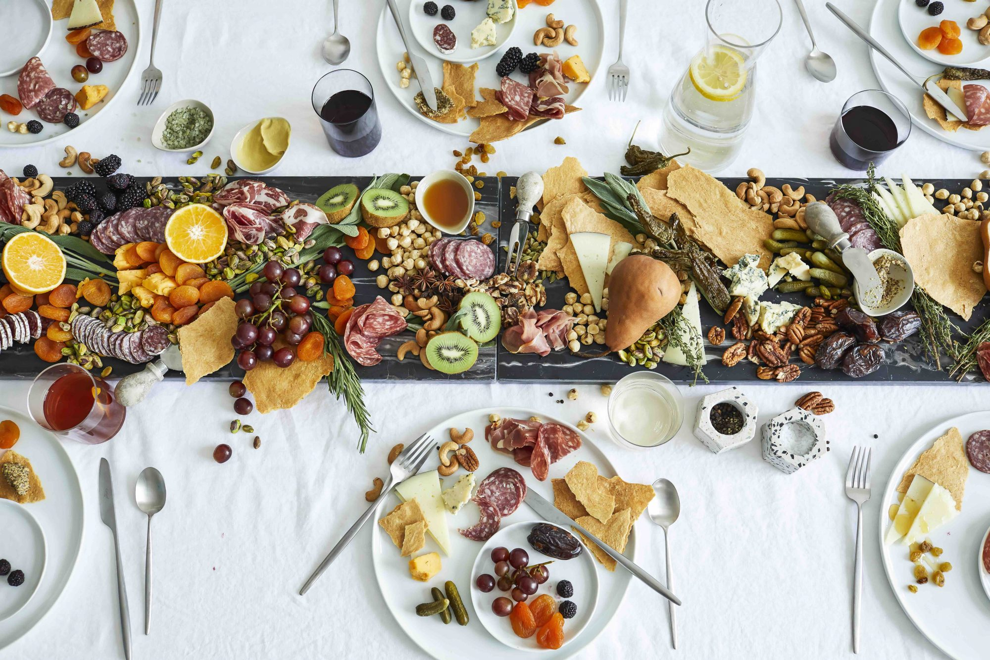 Julia Sullivan The Party Line Catering Tablescape Charcuterie