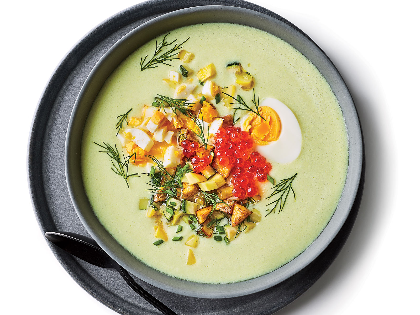 Zucchini and Buttermilk Soup