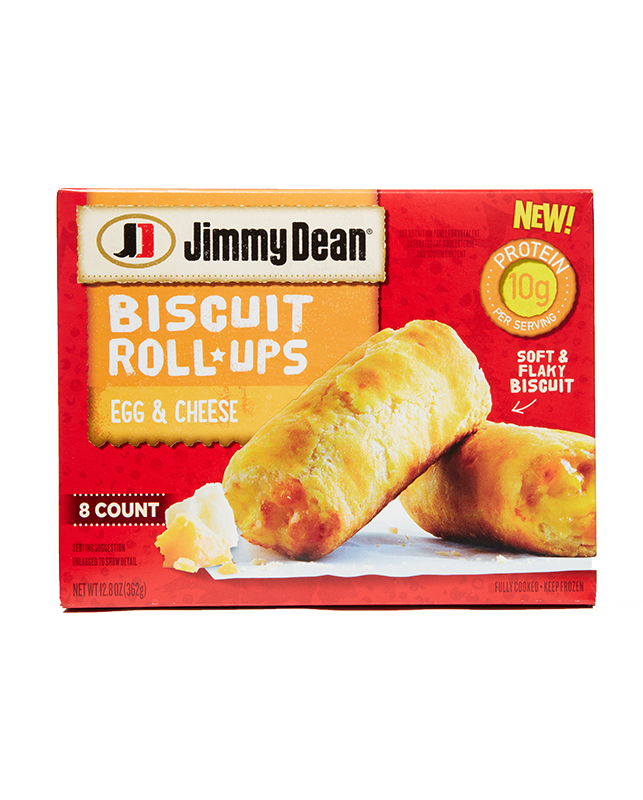 Jimmy Dean Egg & Cheese Biscuit Roll-Ups