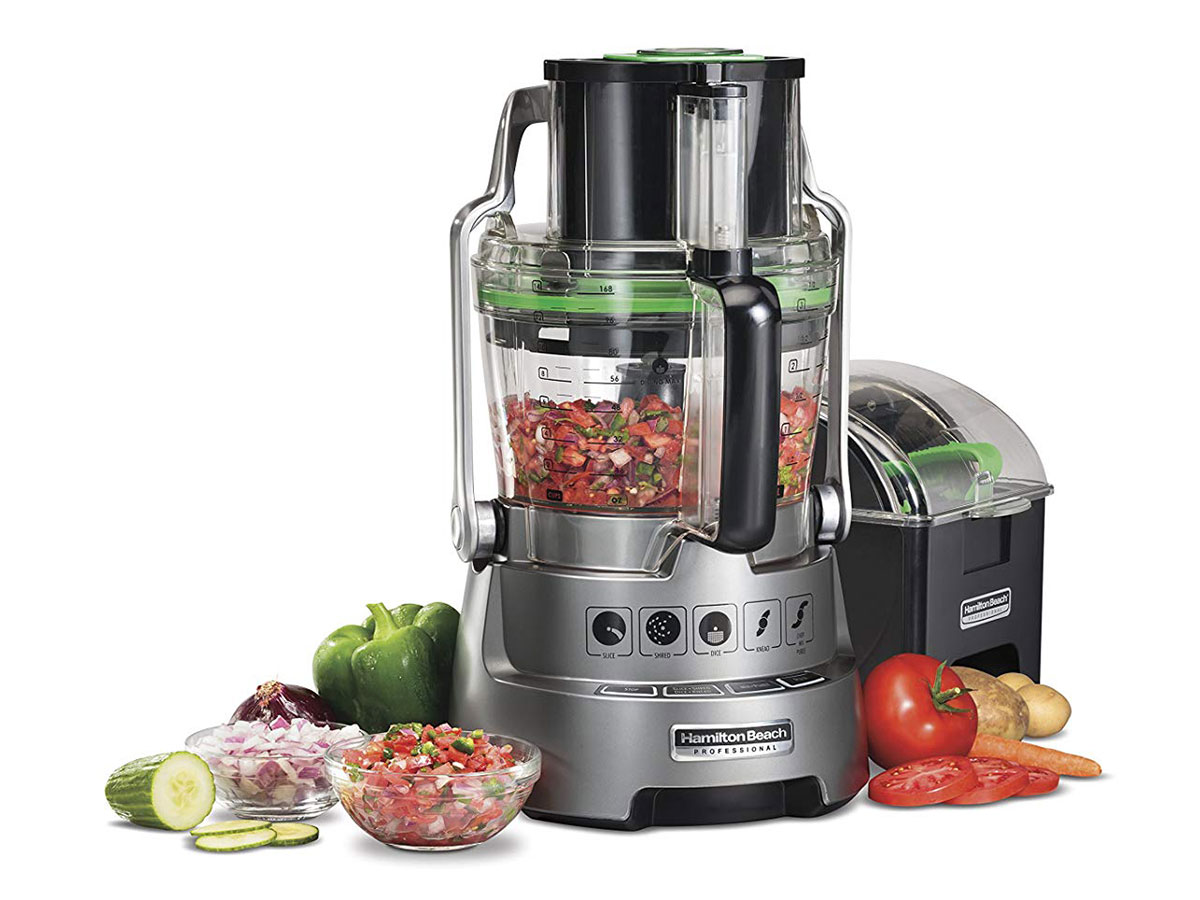 Hamilton Beach Professional Dicing Food Processor with 14-Cup BPA-Free Bowl