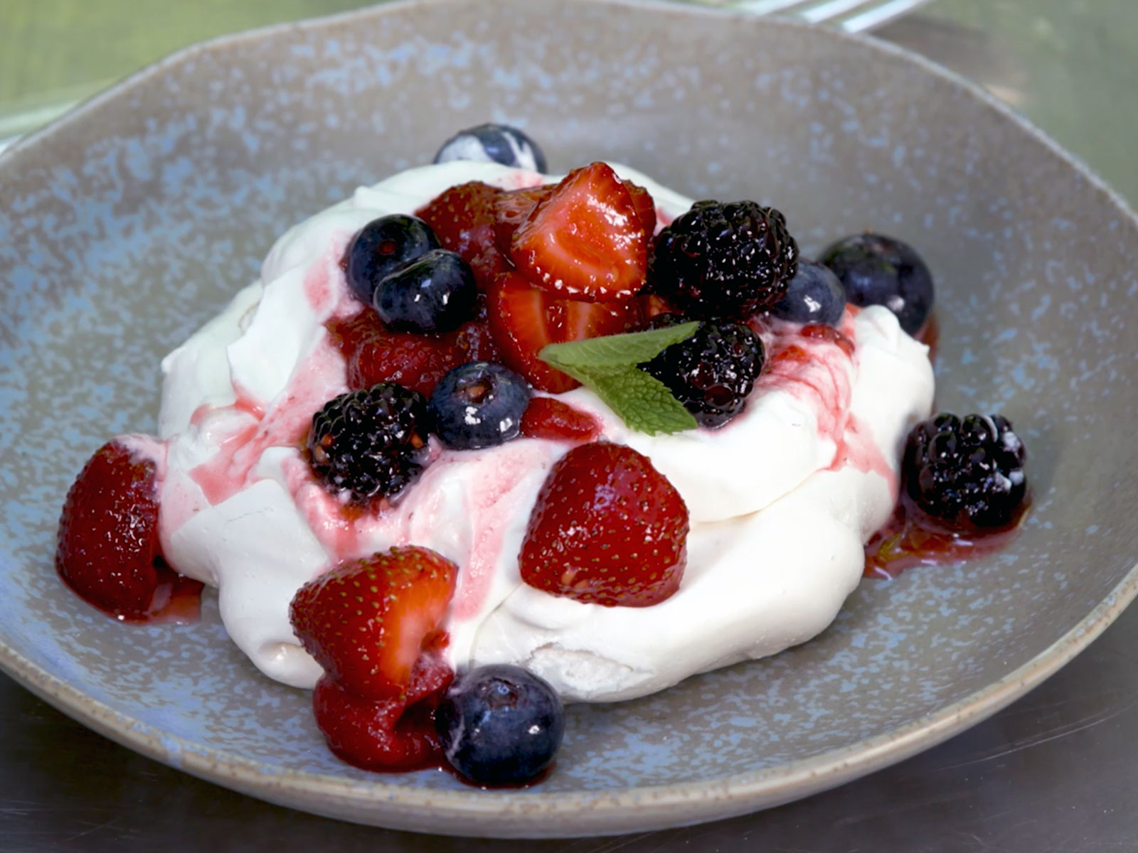 These Simple Grilled Pavlovas Are Summer on a Plate