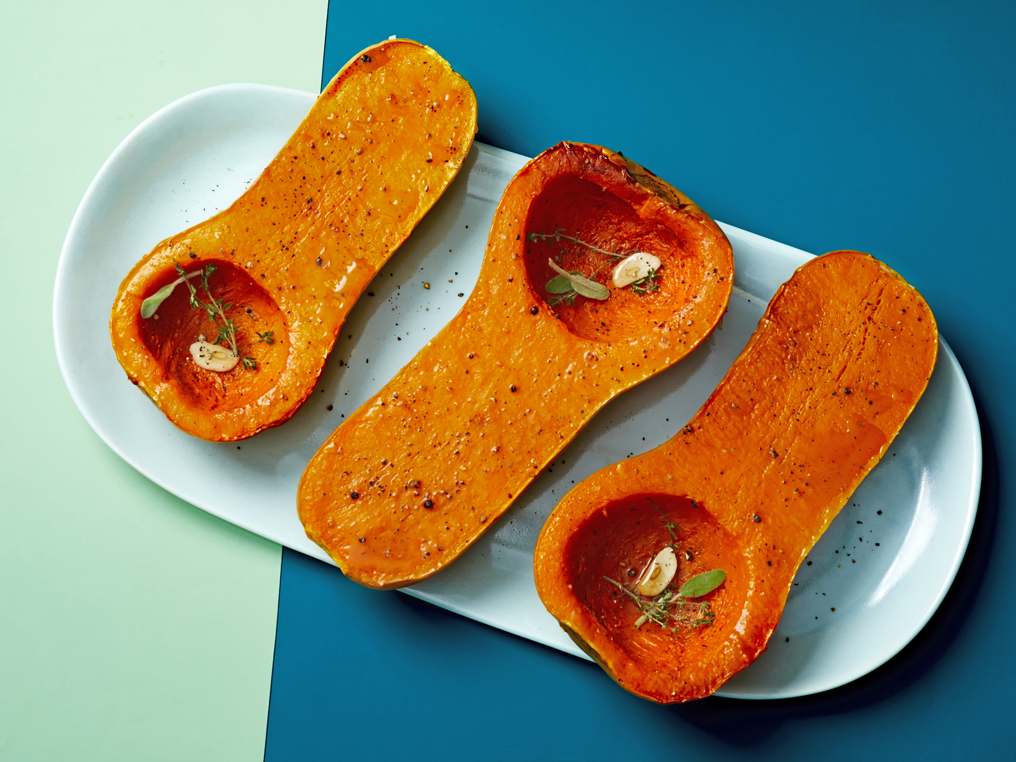 How to Cut and Peel Butternut Squash