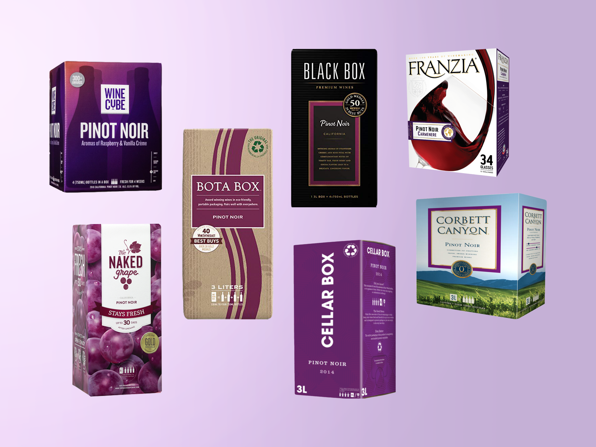 We Tried Every Boxed Pinot Noir We Could Find and This Was the Best One