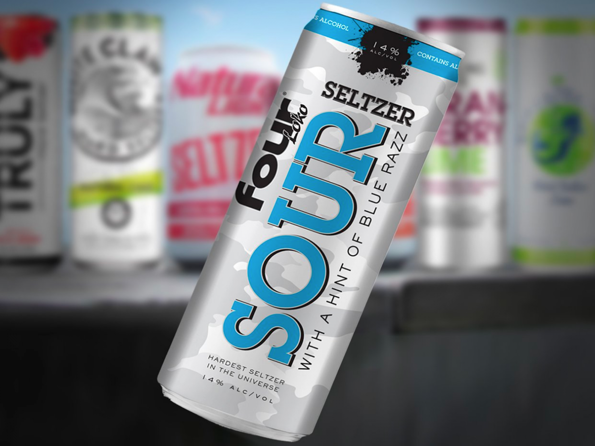 Four Loko Teases Spiked Seltzer With Crazy 14% ABV