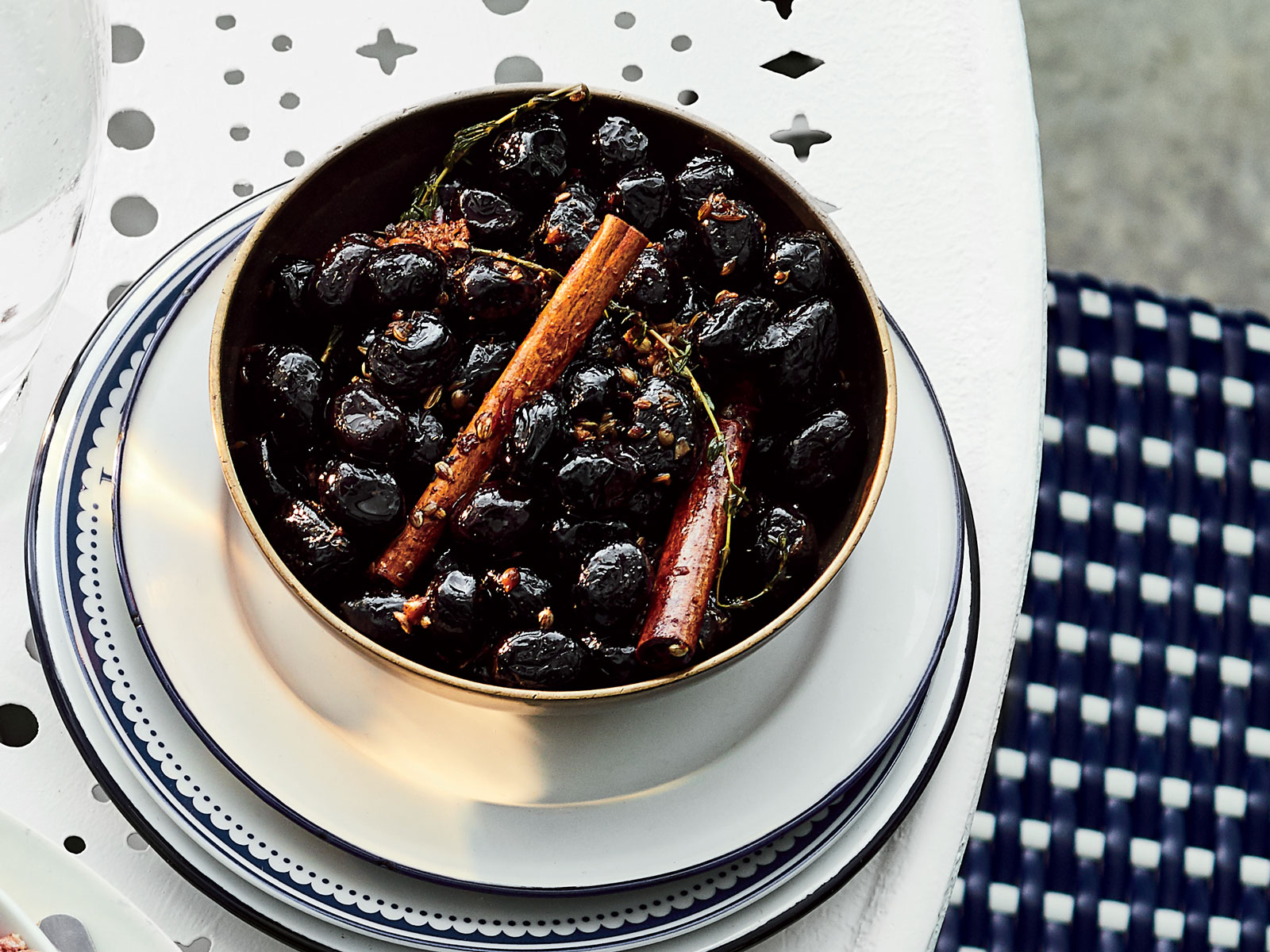 Marinated Olives with Vanilla and Cinnamon