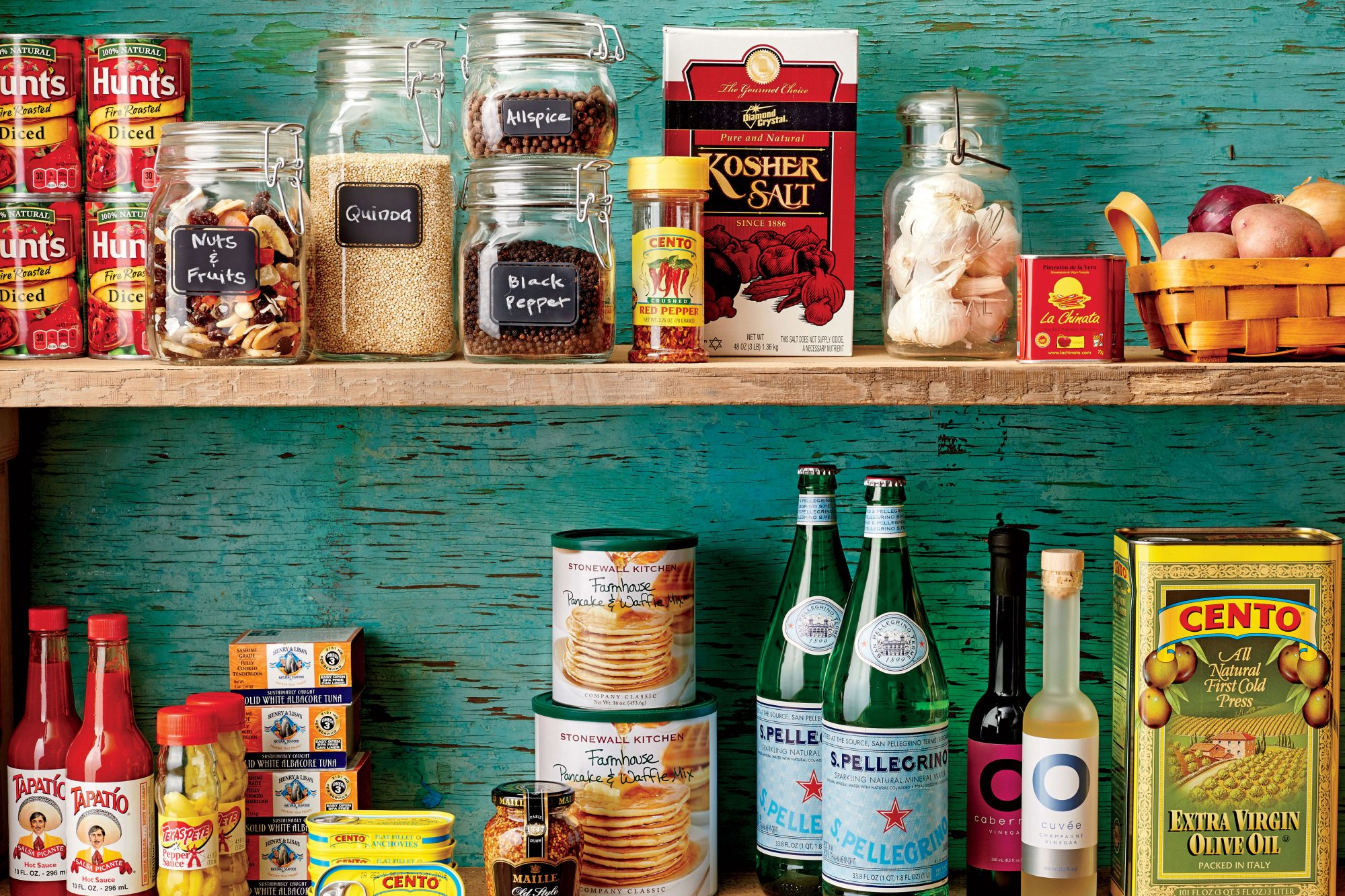 Chef Barton Seaver throws open his cabinet doors to reveal these beach house essentials.