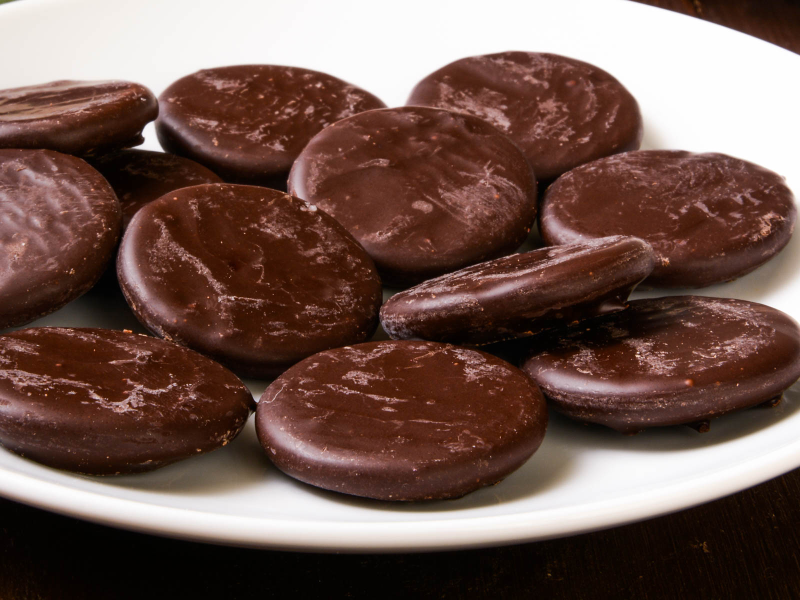 Chefs Refrigerate Girl Scout Cookies Thin Mints