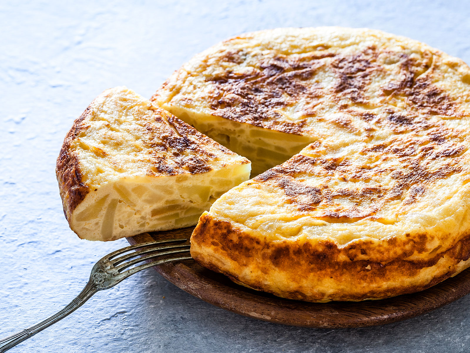 Chefs Don't Refrigerate Spanish Tortilla