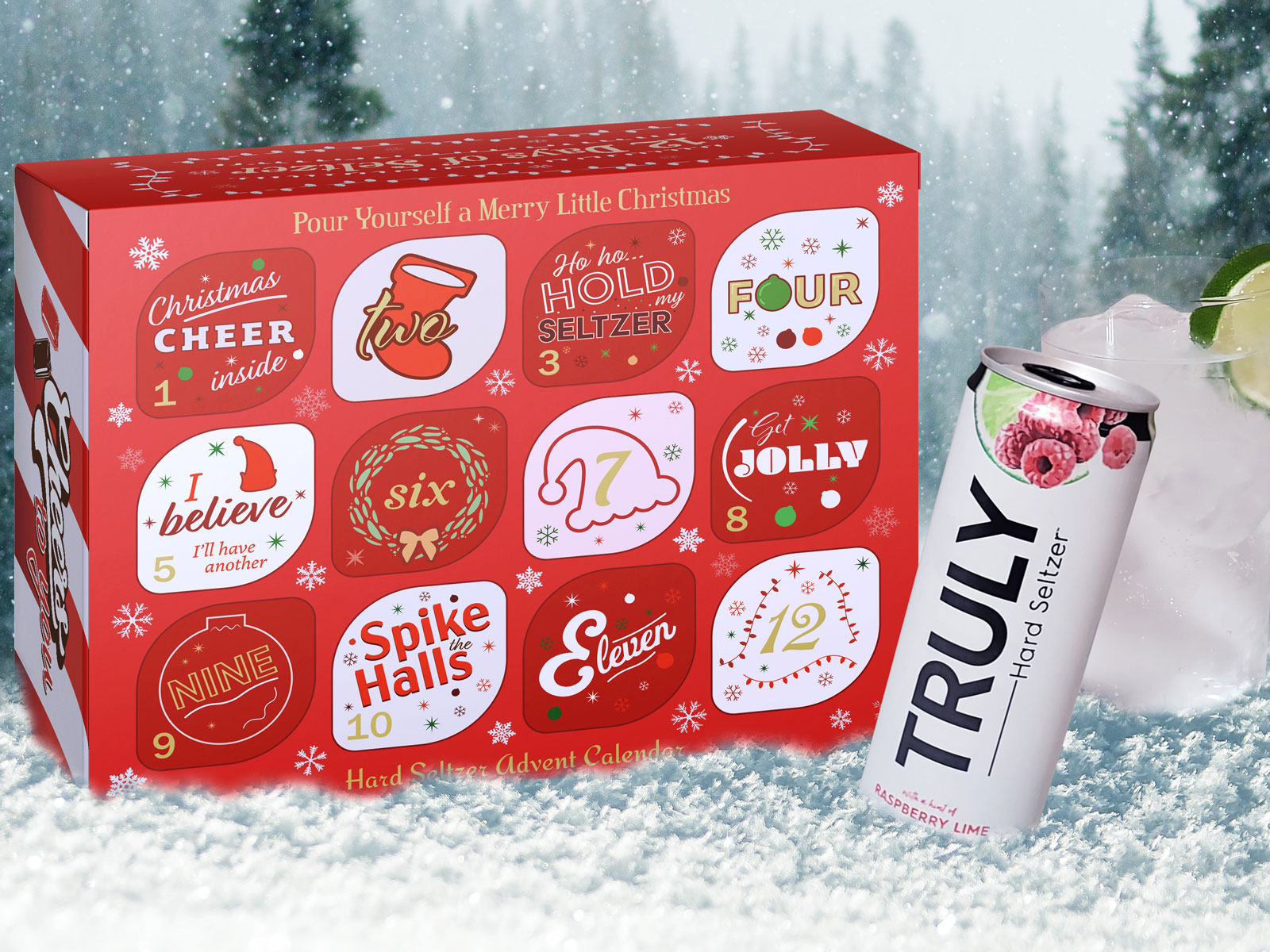 Hard Seltzer Advent Calendar