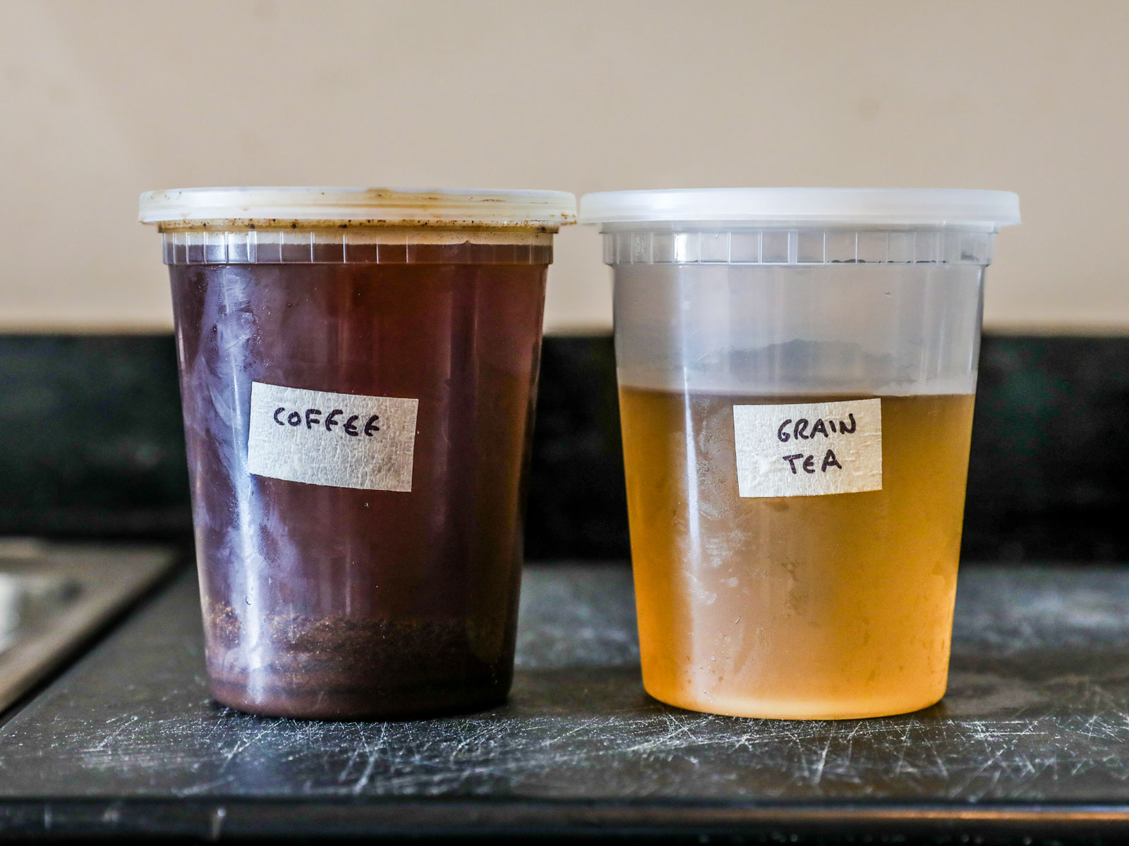 Store Coffee and Tea in Containers